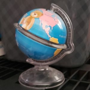 Map Globe Piggy Bank